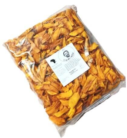 Add-on: 2 kg Organic Dried Mango Amelie from Ivory Coast