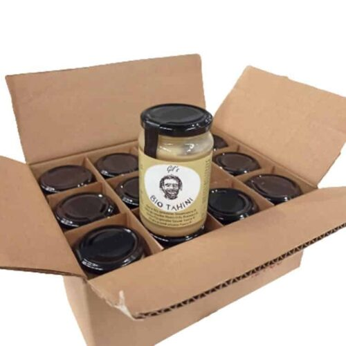 Add-on: 12x320g Organic Tahini (Sesame Paste)