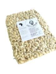 5 kg Organic Raw Cashew W320/450 from Burkina Faso